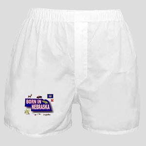 NEBRASKA BORN Boxer Shorts