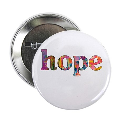 "hope 2.25"" Button (10 pack)"