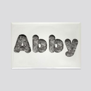 Abby Wolf Rectangle Magnet