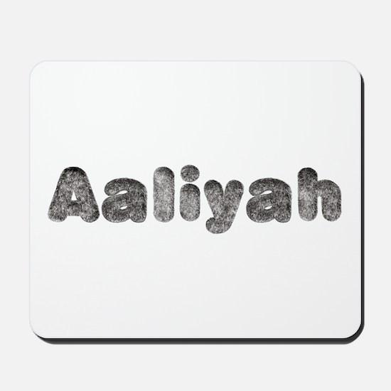 Aaliyah Wolf Mousepad