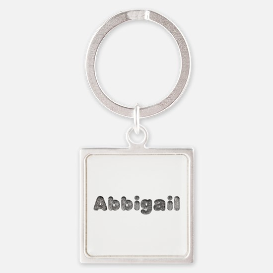 Abbigail Wolf Square Keychain