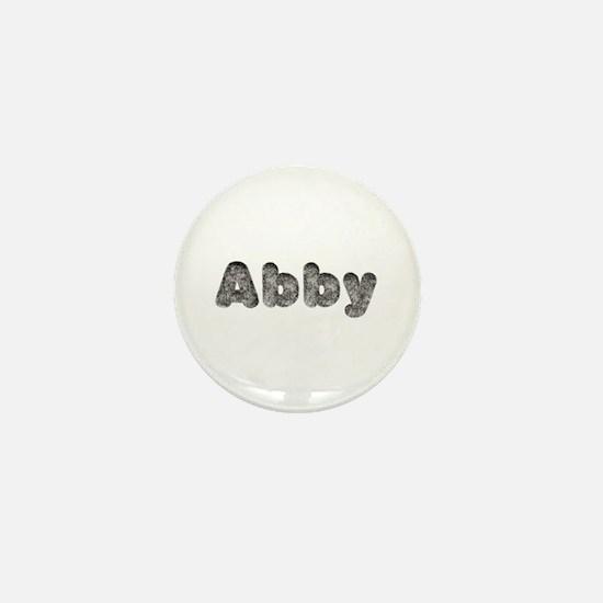 Abby Wolf Mini Button