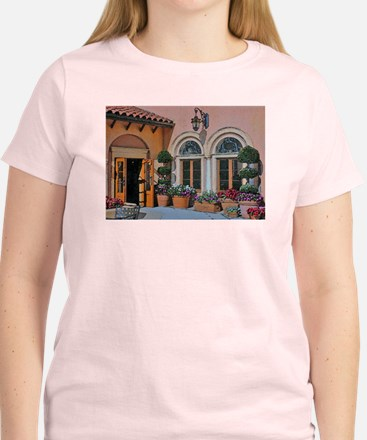 Flower Courtyard T-Shirt