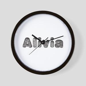 Alivia Wolf Wall Clock