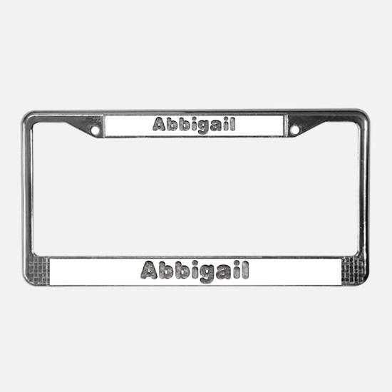 Abbigail Wolf License Plate Frame