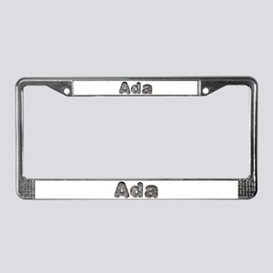 Ada Wolf License Plate Frame