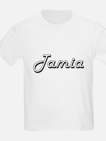 Tamia Classic Retro Name Design T-Shirt