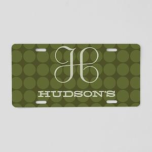 Hudson's Aluminum License Plate