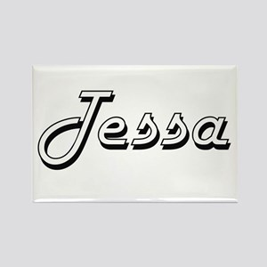 Tessa Classic Retro Name Design Magnets