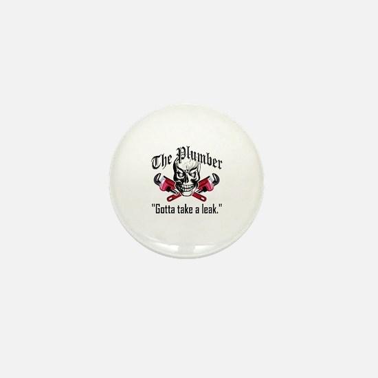 Plumber Skull 3.1 Mini Button
