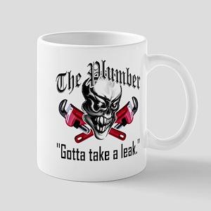 Plumber Skull 5: Take a Leak Mug