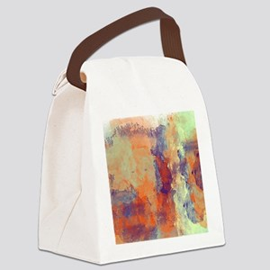 People in the Abstract Canvas Lunch Bag