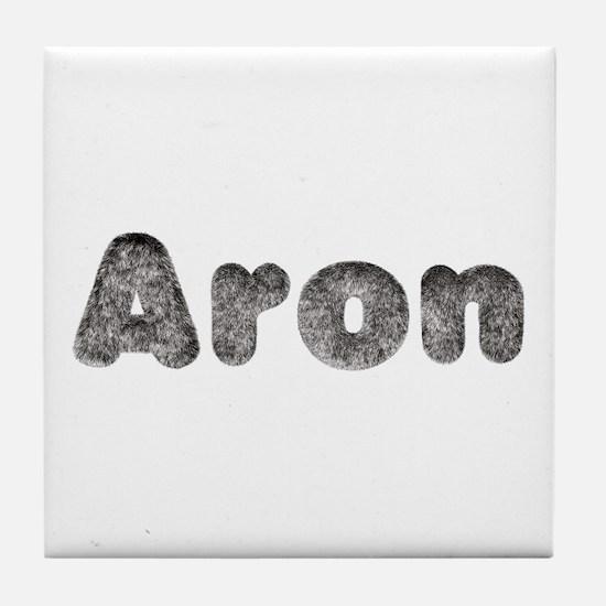 Aron Wolf Tile Coaster