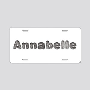 Annabelle Wolf Aluminum License Plate