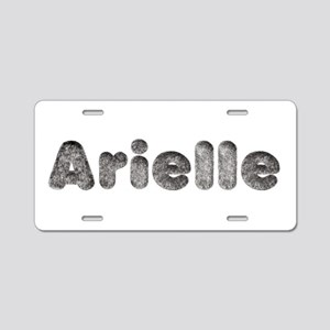 Arielle Wolf Aluminum License Plate