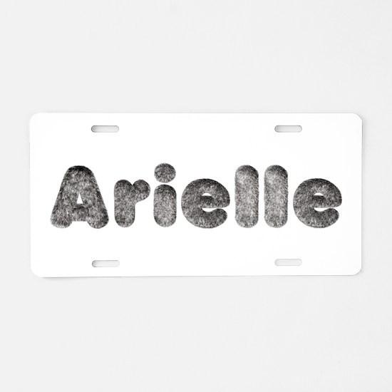 Arielle Wolf Aluminum License Plate