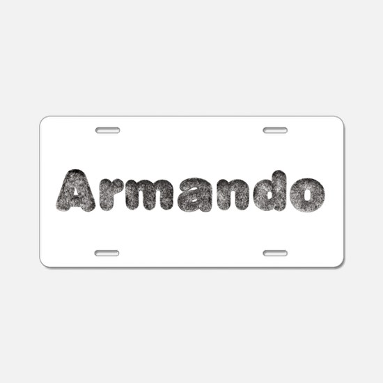 Armando Wolf Aluminum License Plate