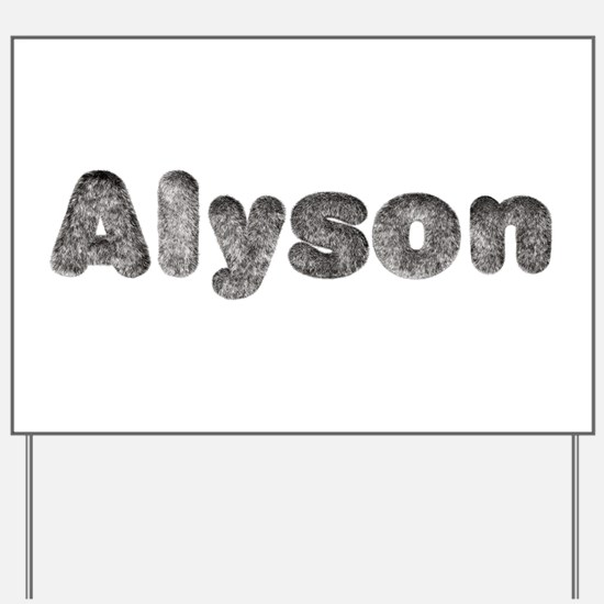 Alyson Wolf Yard Sign