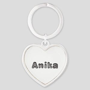 Anika Wolf Heart Keychain
