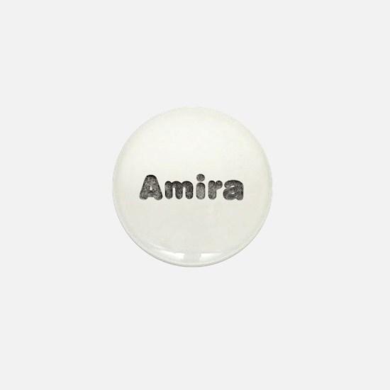 Amira Wolf Mini Button
