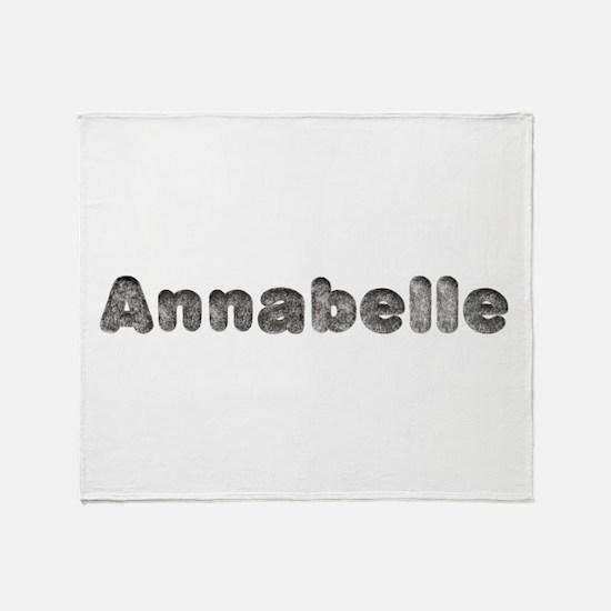 Annabelle Wolf Throw Blanket
