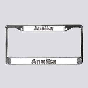 Annika Wolf License Plate Frame