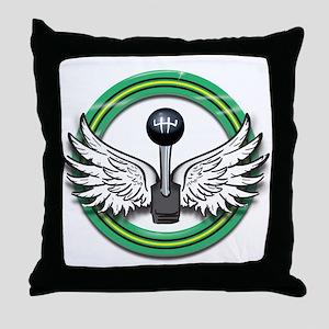 FlyingShift Throw Pillow