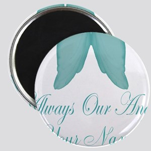 Always Our Angel Blue Magnets