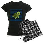 Sea Turtle Navy Stripes Pajamas