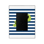 Sea Turtle Navy Stripes Picture Frame