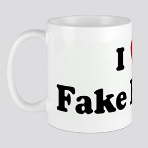 I Love Fake Boobs Mug