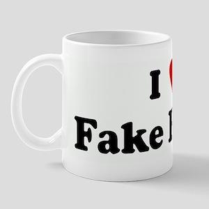 I Love Fake Boobs Mug