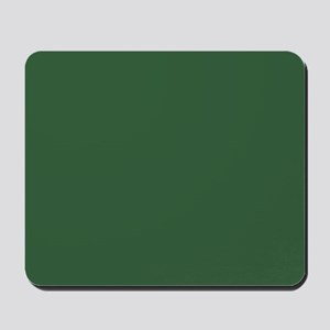 Solid Hunter Green Mousepad