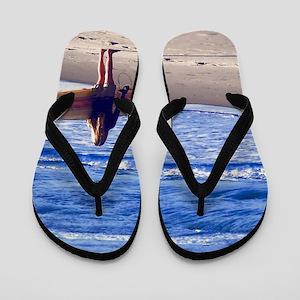 Surfer Girl Flip Flops