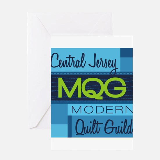 Central Jersey Modern Quilt Guild L Greeting Cards