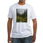 Mountain forest lake T-Shirt