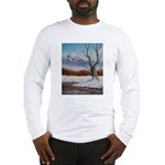 Winter scene Long Sleeve T-Shirt