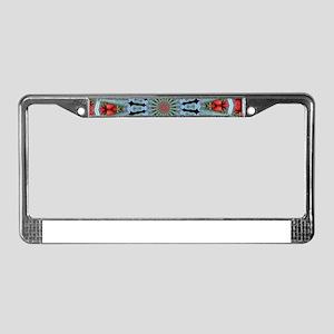 Strawberry Delight License Plate Frame