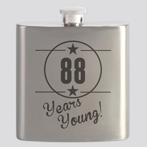 88 Years Young Flask