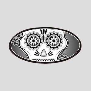 Funny sugar skull Patch