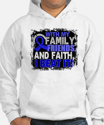 Colon Cancer Survivor FamilyFrie Hoodie