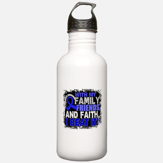 Colon Cancer Survivor Water Bottle