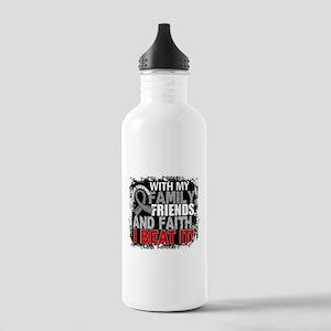 Brain Cancer Survivor Stainless Water Bottle 1.0L