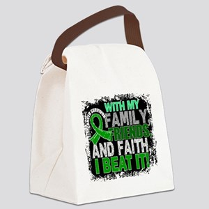 Adrenal Cancer Survivor FamilyFri Canvas Lunch Bag