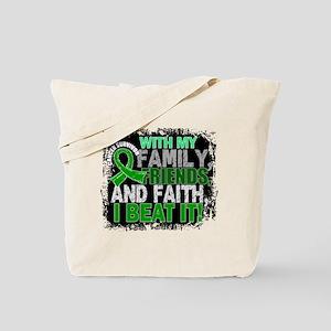 Adrenal Cancer Survivor FamilyFriendsFait Tote Bag
