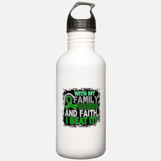 Bile Duct Cancer Survi Water Bottle