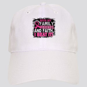Breast Cancer Survivor FamilyFriendsFaith Cap