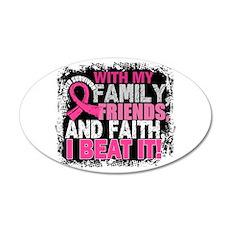 Breast Cancer Survivor Famil Wall Sticker
