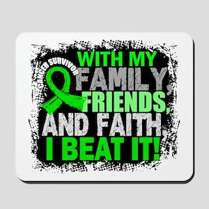 NH Lymphoma Survivor FamilyFriendsFaith Mousepad