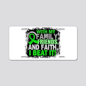 NH Lymphoma Survivor Family Aluminum License Plate